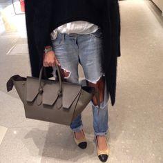 46410f532 blown away Fiorelli Bags, Elle Ferguson, Back Bag, Grey Purses, Celine Bag