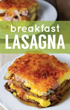 This breakfast lasagna swaps French toast for pasta and layers in hash browns, smoked ham, cheese and eggs.