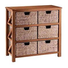 SONOMA life + style® Cameron Basket Bookcase