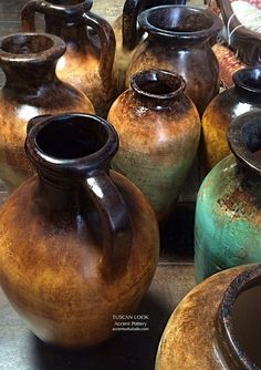 ♥Tuscan Look Accent Pottery at Accents of Salado. See our large selection online.