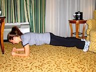hotel room workout - 20min