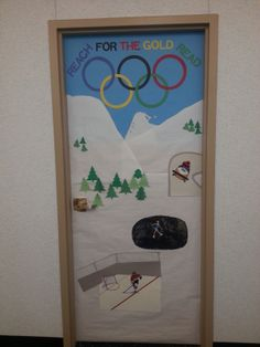 Winter Olympics - library display