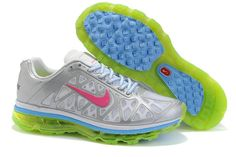 new arrival d1eae 59bc6 431875 001 Women Nike Air Max 2011 Metallic Silver Spark White Volt  AMFW0204 Nike Outfits,