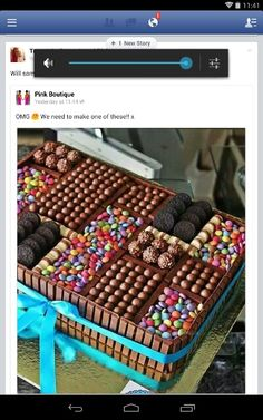 40th birthday cake idea!