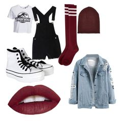 """""""Untitled #3"""" by molu-1 on Polyvore featuring New Look, Converse, WithChic, River Island, women's clothing, women's fashion, women, female, woman and misses"""