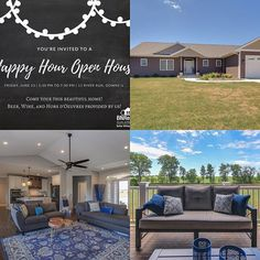 Don't forget to come on out to our Happy Hour Open House TONIGHT from 5:30 to 7:30 for!  Beer, wine, and hors D'oeuvres provided!  #bnrealty #kellerwilliamsbloomington #downsil #downsillinois