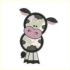 6 Fun Kiddies Applique - * 4 Cute cow designs to decorate dishtowels or a t-shirt Cute Cows, Welcome, 4x4, Embroidery Designs, Minnie Mouse, Disney Characters, Fictional Characters, Applique, Africa