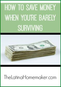 How To Save Money When You're Barely Surviving: Simple tips to help you save money even when your income is low and your budget is very tight. make extra money at home, make extra money in college Ways To Save Money, Money Tips, Money Saving Tips, Money Budget, Budgeting Finances, Budgeting Tips, Dave Ramsey, Studyblr, Blogging