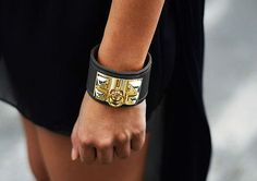 Classic black and gold