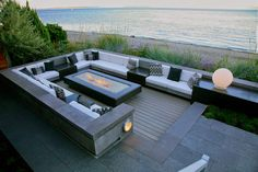 sunken fire pit - Google Search More
