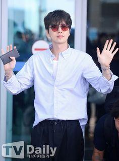 park hae jin 박해진 off to bangkok, thailand 07.14.2017