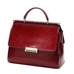 fe3edef083 Genuine Leather Totes Bags Women Hand Bag Messenger Ladies Crossbody Luxury  Female Handbags