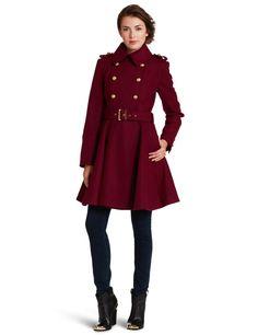 Miss Sixty Women's Cassie Coat http://amzn.to/VVb952