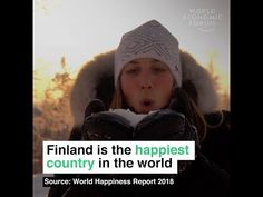 A new report reveals that Finland is the happiest country in the world based on a range of measures including GDP per capita, freedom to make life choices, and corruption levels.