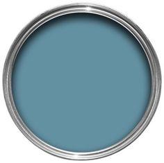 Dulux Kitchen Plus Matt Emulsion Paint Stonewashed Blue 2.5L, 5010212576021