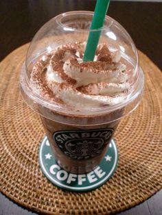 Starbucks-style ☆ Dark Mocha Frappuccino