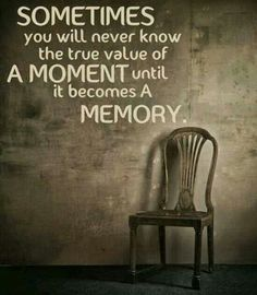 True value of a moment.