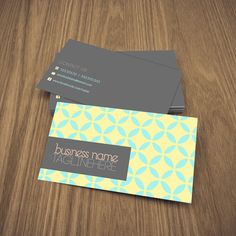 double sided business card design $10.80 #pattern #deidamiah