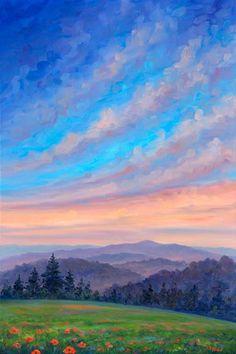 Mountains in Spring Appalachian wildflowers Blue Ridge Parkway