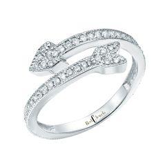 Arrowring    Red C Jewels #jewelry #ring #diamonds