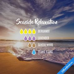 Seaside Relaxation - Essential Oil Diffuser Blend