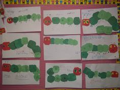 Mrs. Wood's Kindergarten Class: Caterpillar Patterns