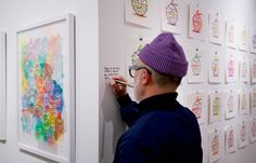 Kevin Lyons and Ellen Rutt @ Inner State Gallery #Arts_and_Culture #iNewsPhoto