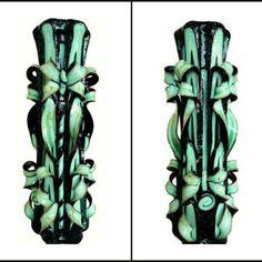 Bougie sculptée (30 cm),bougie artisanale,bougie fait main,bougie décorative