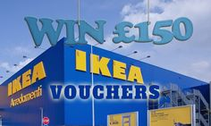 We're offering you the chance to win £150 to spend at IKEA – the leading provider of well-designed furniture at affordable prices. Entry for this competition is completely free, so don't delay, enter today!