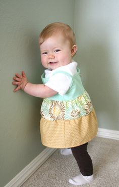 Baby Girl Dress from Fat Quarters
