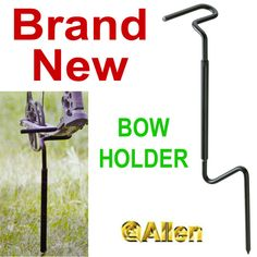 New Allen Blind Hunting Archery/Compound Bow HolderGround Stake Bow Mount5280