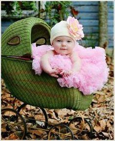 So CUTE!! baby sitting in a pram - baby stuff ...
