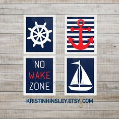 Nautical Nursery Wall Decor no wake zone nursery wall decor baby decor boy fishing art boy