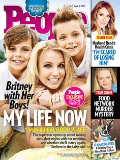 Britney Spears is all smiles on the cover of People magazine