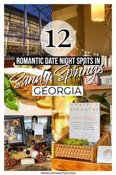 If you need some ideas planning a romantic date night, then look no further than Sandy Springs, Georgia. We've narrowed it down to 12 of the best romantic date night spots in Sandy Springs where you can wine, dine, or dance the night away with your sweetheart. #VisitSandySprings #AD #SandySpringsGeorgia #RomanticDateNight