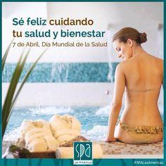 Día mundial de salud. Te recordamos que puedes ser feliz en el #SpaLasAméricas  #Cartagena #DiaMundialdelaSalud