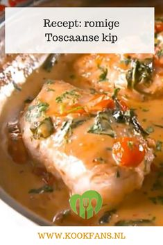 Recept: romige Toscaanse kip Black Seed Oil Dosage, Slow Cooker, Masala Curry, Tuscan Chicken, Halloumi, Cheeseburger Chowder, Chicken Recipes, Paleo, Food And Drink