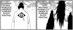 Unohana and zaraki's reason for fighting :'(