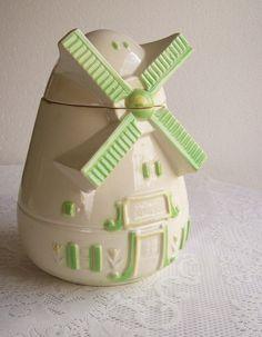 Cookie Jar Windmill Circa 1950's