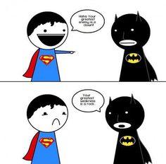 Sorry Superman, Batman Wins Again!  See more funny pics at killthehydra.com!