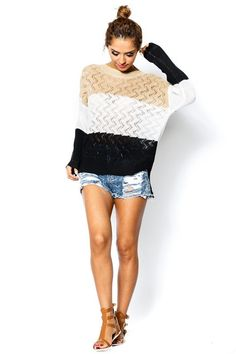 Arris Fashion - Stripe Out Sweater, $35.00 (http://www.arrisfashion.com/stripe-out-sweater/)
