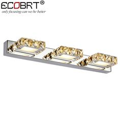 ECOBRT Modern 9W 46cm long led wall lights in bathroom Square Crystal Sconce Mirror Lamps 3-lights AC110V /220V //Price: $57.14 & FREE Shipping //     #fashion    #love #TagsForLikes #TagsForLikesApp #TFLers #tweegram #photooftheday #20likes #amazing #smile #follow4follow #like4like #look #instalike #igers #picoftheday #food #instadaily #instafollow #followme #girl #iphoneonly #instagood #bestoftheday #instacool #instago #all_shots #follow #webstagram #colorful #style #swag #fashion