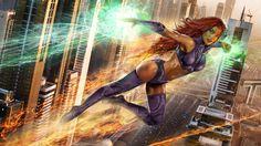 DC COMICS: Starfire by John Gallagher