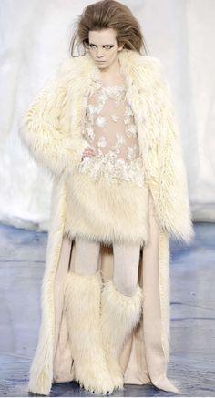 eskimo chic Chanel autumn/winter 2010