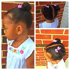 "Team KBB LOVES fan photos!! @mrsdcstylist used #KarensBodyBeautiful products to achieve this adorable hairstyle! She writes, ""hairstyles for baby naturals #PROTECTIVESTYLES #naturalkids #karensbodybeautiful #hannah #naturalhaircommunity #igkids."" (Hashtag your beautiful photos or KBB product pics with #KarensBodyBeautiful to be featured.) #naturalhair #TeamNatural #naturalhairjourney #texturedhair #naturallycurly #afros #haircare #beauty #KarensBodyBeautiful #KarensBeautiful #RealHairTalk…"