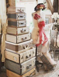 Pila de maletas
