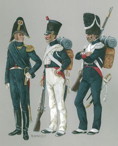 Batalion polski grenadierów gwardii cesarskiej 1813./ Bataillon de grenadiers polonais a pied de la Garde Impériale 1813. mal.R.Morawski Empire, Poland History, Army Uniform, Napoleonic Wars, Military Art, Warfare, Arsenal, Joker, Pictures