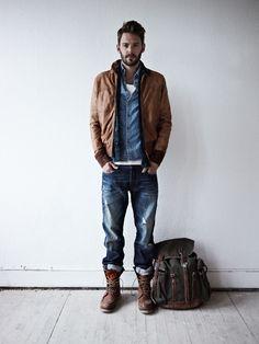 メンズファッション:デニムをかっこよく着こなす方法