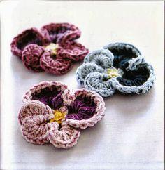 Crochet Flower France - Chart