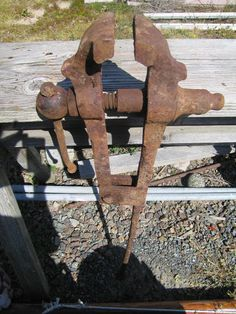 Blacksmith Leg Vise I Have One For Sale For The Price Of